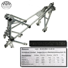 Rahmen, Fahrzeugpapiere & Vermessungsprotokoll BMW R1200GS (K50)