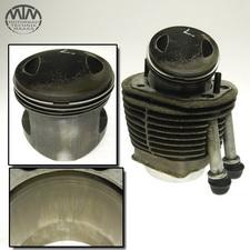 Zylinder & Kolben links BMW R100GS (247E)