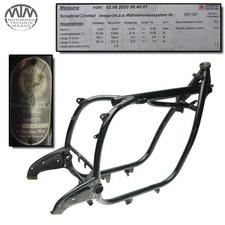 Rahmen, Fahrzeugbrief, Fahrzeugschein & Vermessungsprotokoll BMW R75/5
