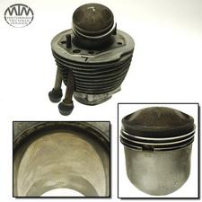Zylinder & Kolben links BMW R75/5