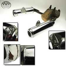 Auspuff Endtopf Yamaha TDM850 (4TX)