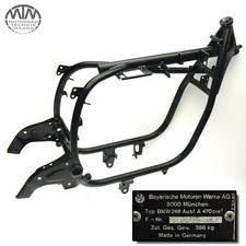 Rahmen, Fahrzeugbrief, Fahrzeugschein & Messprotokoll BMW R45 (248)