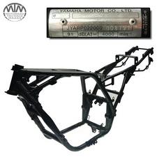Rahmen, Fahrzeugpapiere & Messprotokoll Yamaha XJR1300 (RP02)