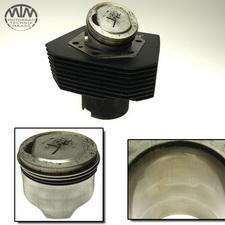 Zylinder & Kolben links Moto Guzzi California 3 (VW)