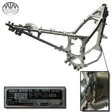 Rahmen, Fahrzeugpapiere & Messprotokoll Honda XRV750 Africa Twin (RD07)