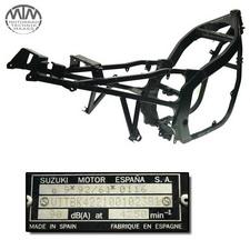 Rahmen, Fahrzeugbrief, Fahrzeugschein & Messprotokoll Suzuki GS500 FU