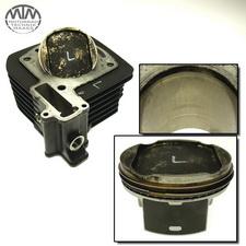 Zylinder & Kolben links Moto Guzzi Stelvio 1200 (LZ)