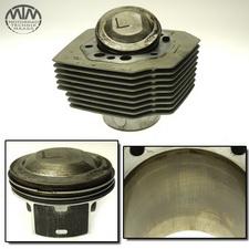 Zylinder & Kolben links Moto Guzzi Sport 1200 (LP)