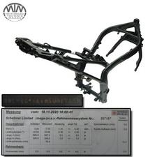 Rahmen, Fahrzeugbrief, Fahrzeugschein & Messprotokoll Honda CBR650FA ABS (RC96)