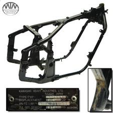 Rahmen, Fahrzeugpapiere & Vermessungsprotokoll Kawasaki VN800 (VN800A)