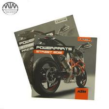 Powerparts Katalog mit Preisliste KTM 990 Super Duke (LC8 EFI)