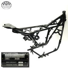 Rahmen, Fahrzeugpapiere & Messprotokoll Moto Guzzi V7 750ie 2 Stone ABS