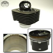 Zylinder & Kolben links Moto Guzzi V7 750ie 2 Stone ABS