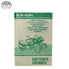 Fahrer Handbuch Suzuki GSF1200S Bandit (GV75A)