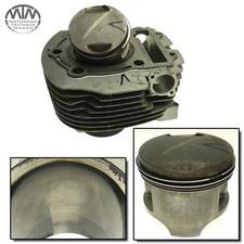 Zylinder & Kolben vorne Yamaha XV700 Virago (42W)