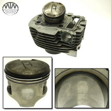 Zylinder & Kolben hinten Yamaha XV700 Virago (42W)