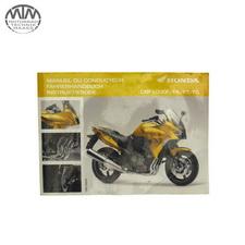 Fahrer Handbuch Honda CBF1000 FA ABS (SC64)
