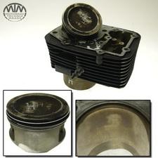 Zylinder & Kolben hinten Suzuki VL1500 LC Intruder (WVAL)