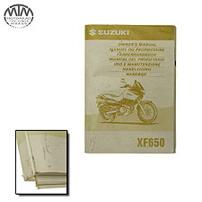 Fahrer Handbuch Suzuki XF650 Freewind (AC)