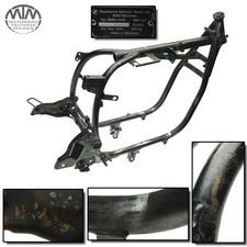 Rahmen, Fahrzeugbrief, Fahrzeugschein & Vermessungsprotokoll BMW R100R (247E)
