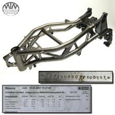 Rahmen, Fahrzeugbrief, Fahrzeugschein & Vermessungsprotokoll Benelli Tre-K 1130