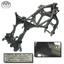 Rahmen, Fahrzeugpapiere & Messprotokoll Yamaha XT1200ZA Super Tenere (DP01)
