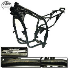 Rahmen, Betriebserlaubnis, Fahrzeugschein & Messprotokoll Honda XL125V Varadero (JC32)