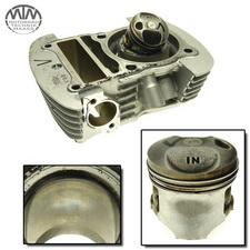 Zylinder & Kolben vorne Honda XL125V Varadero (JC32)