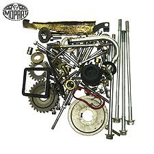Schrauben & Muttern Motor Beta RR125 4T Enduro (E2)