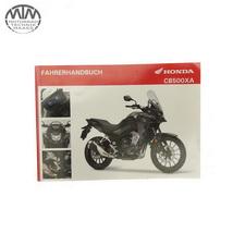 Fahrer Handbuch Deutsch Honda CB500XA (PC64)