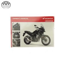 Fahrer Handbuch Englisch Honda CB500XA (PC64)
