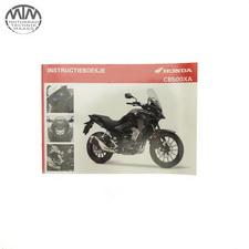 Fahrer Handbuch Niederländisch Honda CB500XA (PC64)