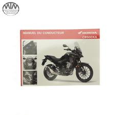 Fahrer Handbuch Französisch Honda CB500XA (PC64)