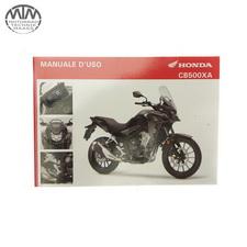 Fahrer Handbuch Italienisch Honda CB500XA (PC64)