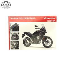 Fahrer Handbuch Spanisch Honda CB500XA (PC64)
