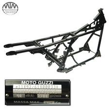 Rahmen, Fahrzeugpapiere & Messprotokoll Moto Guzzi California 1100ie Jackal