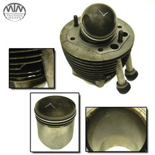Zylinder & Kolben links BMW R60/5