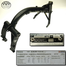 Rahmen, Fahrzeugpapiere & Messprotokoll Triumph Thunderbird 900 (T309RT)