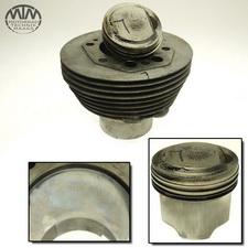 Zylinder & Kolben links Moto Guzzi 850-T3 California