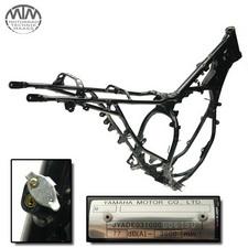 Rahmen, Betriebserlaubnis, Fahrzeugschein & Messprotokoll Yamaha DT125RH (DE03)