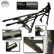 Rahmen, Fahrzeugpapiere & Vermessungsprotokoll Moto Guzzi California 3 ie (VY)