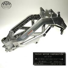 Rahmen, Fahrzeugbrief, Fahrzeugschein & Messprotokoll Suzuki SV1000S (WVBX)