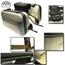 Koffer Satz mit Träger Moto Guzzi V65 (PG)