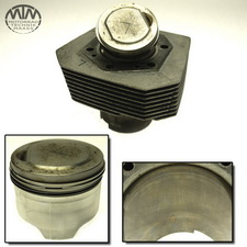 Zylinder & Kolben links Moto Guzzi Quota 1100ES ie (KM)