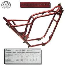 Rahmen, Fahrzeugpapiere & Vermessungsprotokoll Suzuki VS1400 Intruder (VX51L)