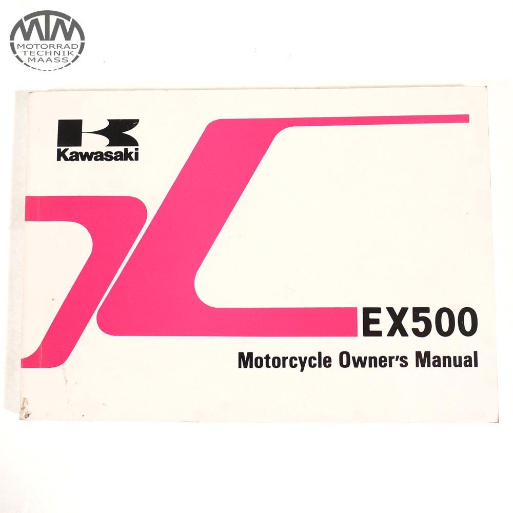 Bedienungsanleitung Kawasaki EX 500 Englisch