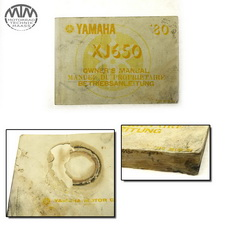 Betriebsanleitung Yamaha XJ650