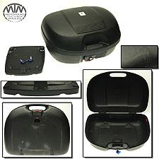 Topcase Koffer Moto Detail (Kappa) mit Grundplatte