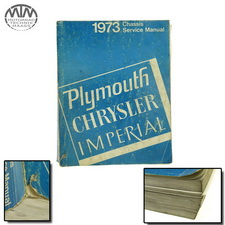 Plymouth Chrysler Imperial 1973 Chassis Service Manual
