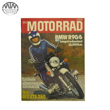 Magazin Das Motorrad 11.Januar 1975 BMW R90/6
